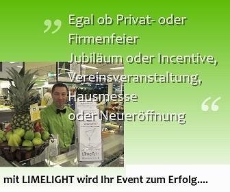 Limelight - Firmenfeier - Privatfeier - Jubiläum - Hausmesse - Neueröffnung - Breisach